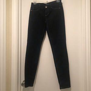 White House Black Market Skinny Jeans in Dark Wash